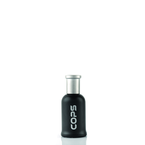 Cops Black Spray Parfumum 28 ml Glass Bottle