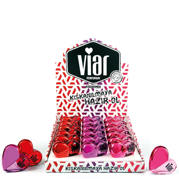Viar Spray Parfumum 28ml Glass Bottle 18 x 2 STD